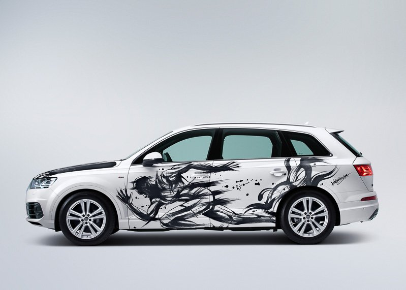 Sumi-e-painted-Audi-Q7 (4)