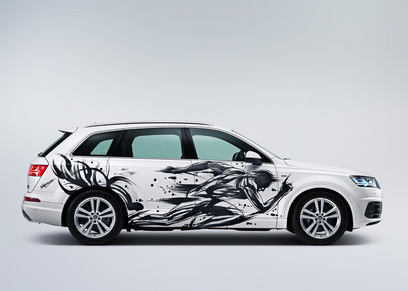 Sumi-e-painted-Audi-Q7 (5)