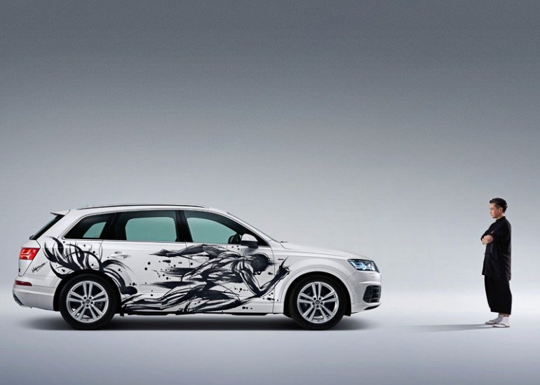Sumi-e-painted-Audi-Q7 (9)