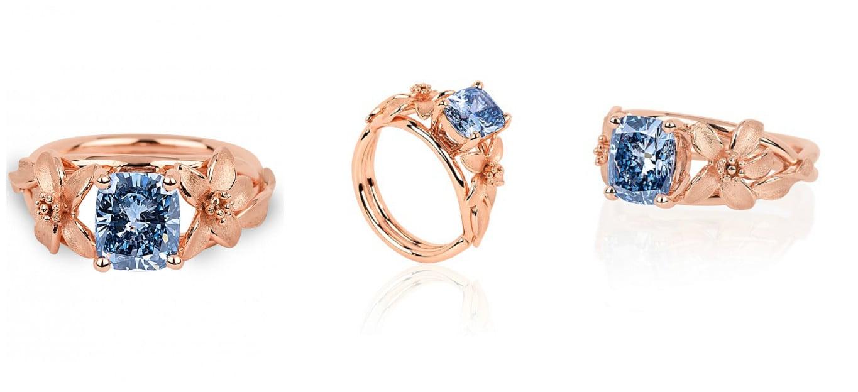 Jane Seymour Rose Gold Ring