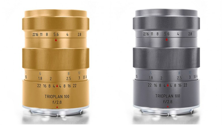 Trioplan limited titanium and gold lenses (1)
