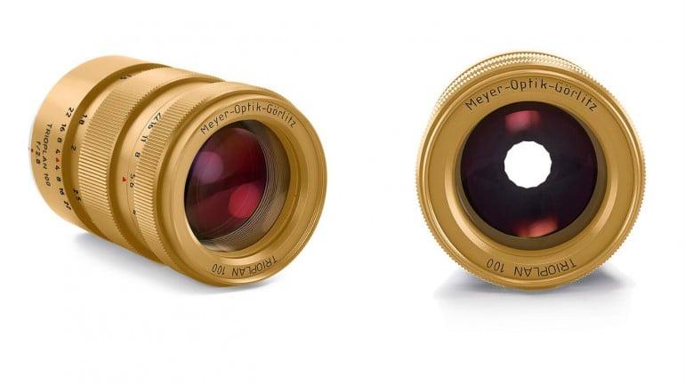 Trioplan limited titanium and gold lenses (3)