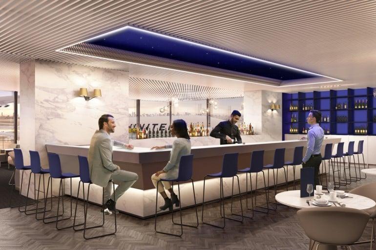 United-Polaris-business-class-lounge-bar