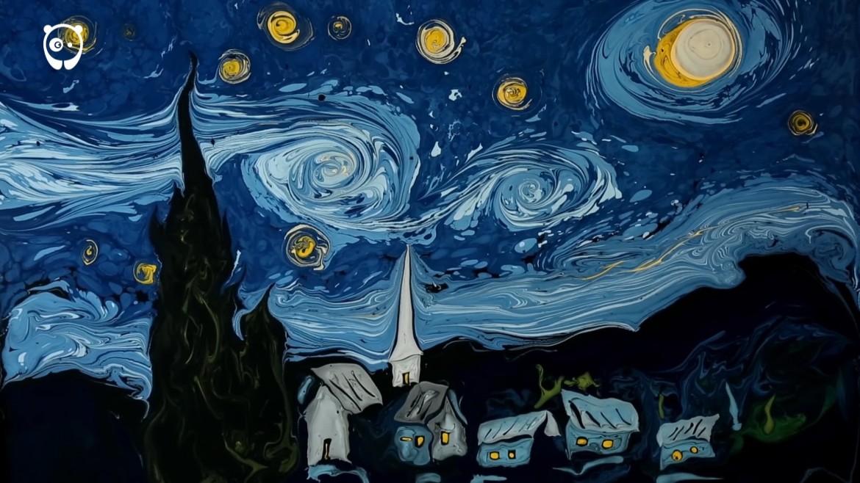 Turkish artist creates increadibly realistic Van Gogh paintings on