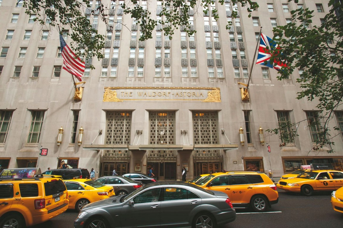 No need to check in at waldorf astoria you could just for Hotel new astoria