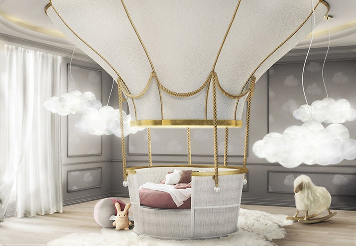 If You Love Whimsical Décor And Imaginative Design Then Youu0027ll Love Circuu0027s  Hot Air Balloon Inspired Bed Which Looks Like Itu0027s Straight Out Of A Disney  ...