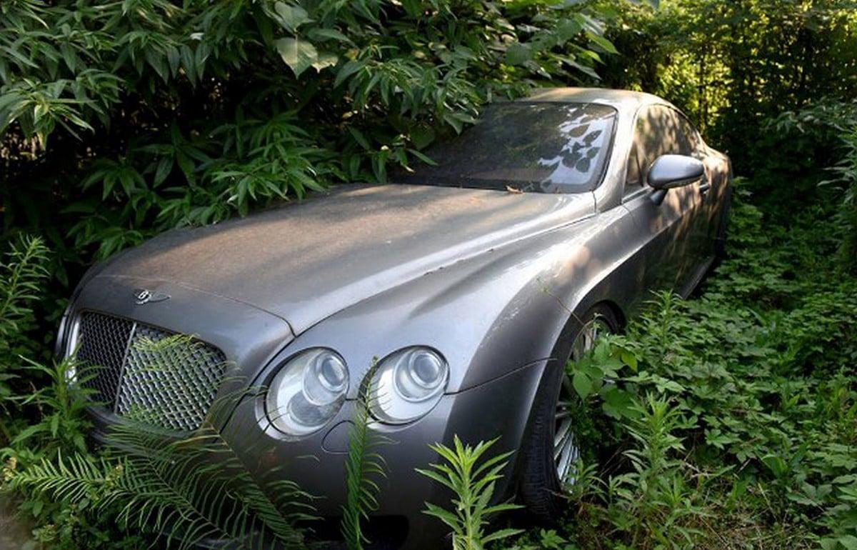 From Bentleys To Range Rovers Forsaken Luxury Cars Are Rotting