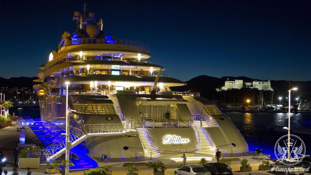 This 600 Million Superyacht Has The Largest Pool Of Any