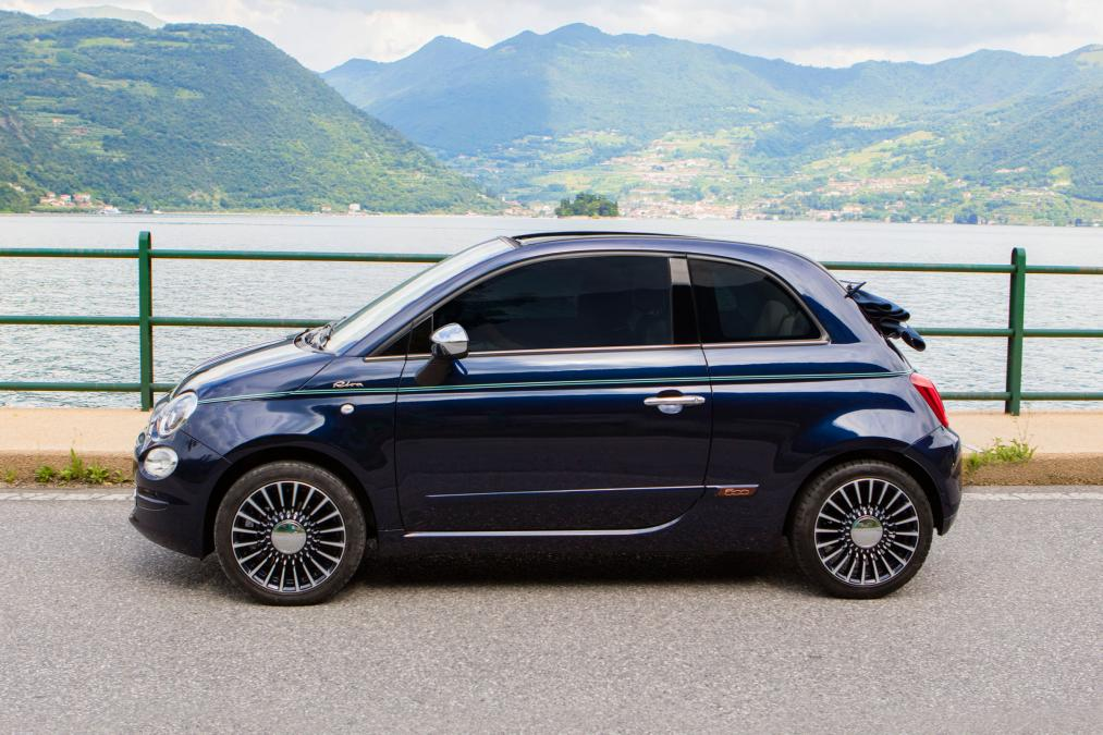 fiat s 500 riva edition brings luxury yacht inspired style. Black Bedroom Furniture Sets. Home Design Ideas