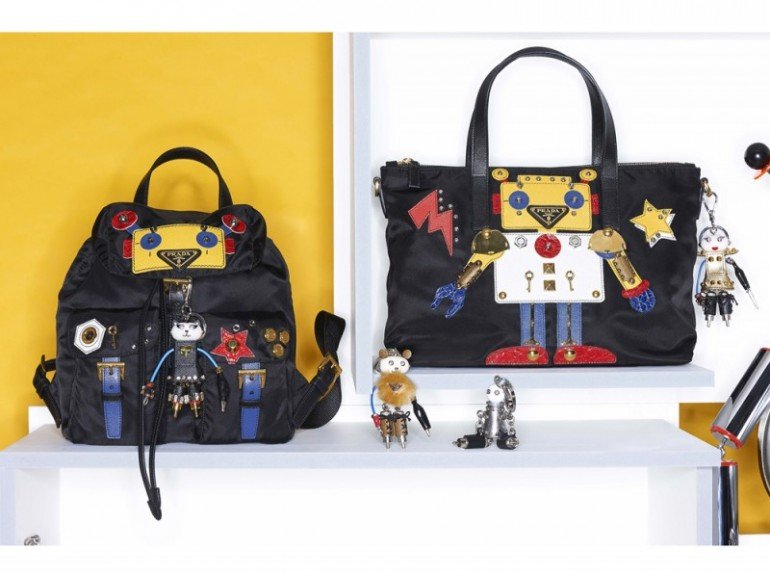 39cf0c9236 Prada s Robot capsule collection will charm its way into your ...