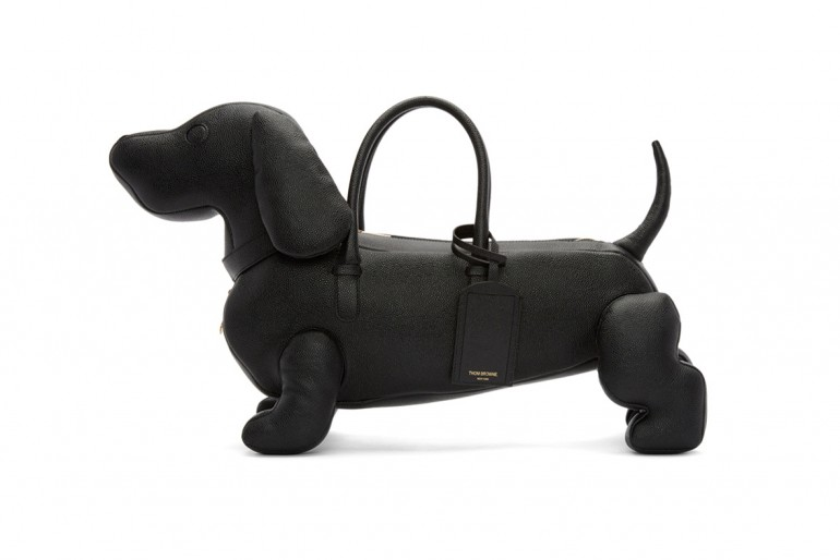 4209a2214a6 Thom Browne designs 'doggy' bag for men, dachshund to be precise -