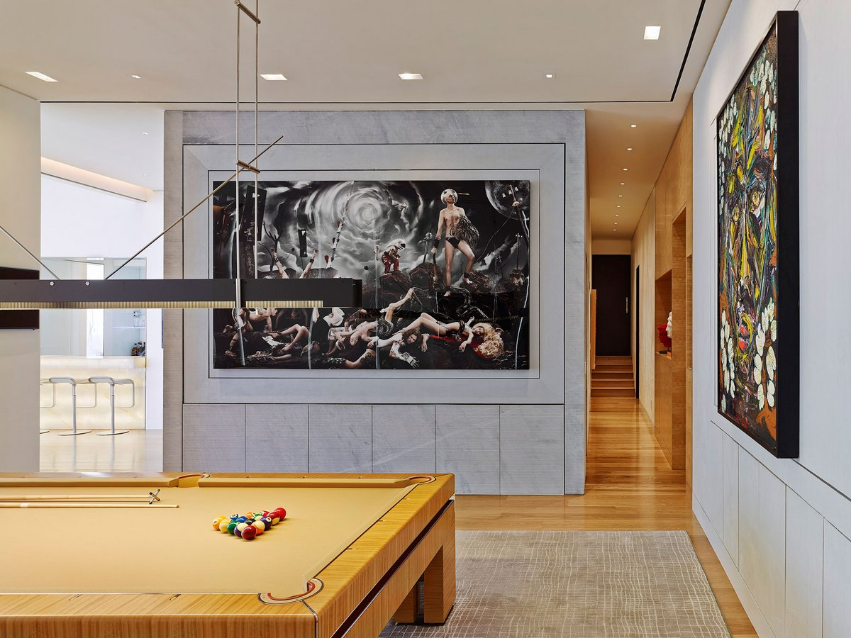 take a look inside one of the largest luxury apartment in manhattan that looks like an art gallery - Inside Luxury Apartments
