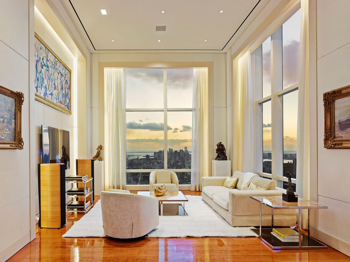 Take a look inside one of the largest luxury apartment in for Luxury new york city apartments