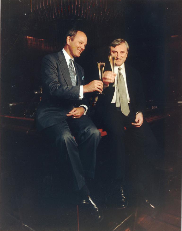Alex Von Bidder and Julian Niccolini