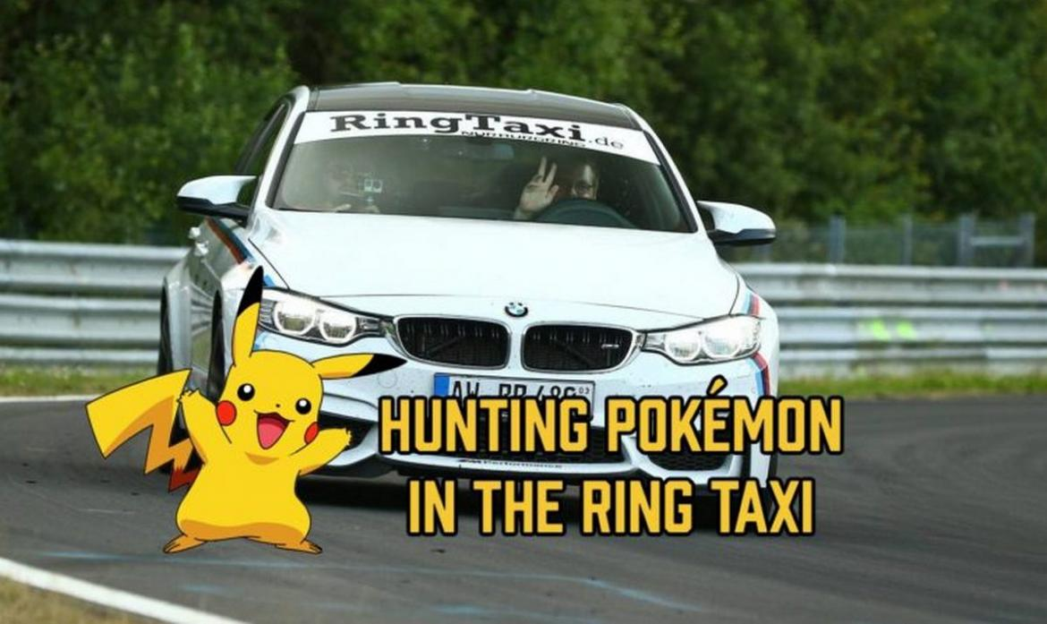 BMW M3 - pokemon go