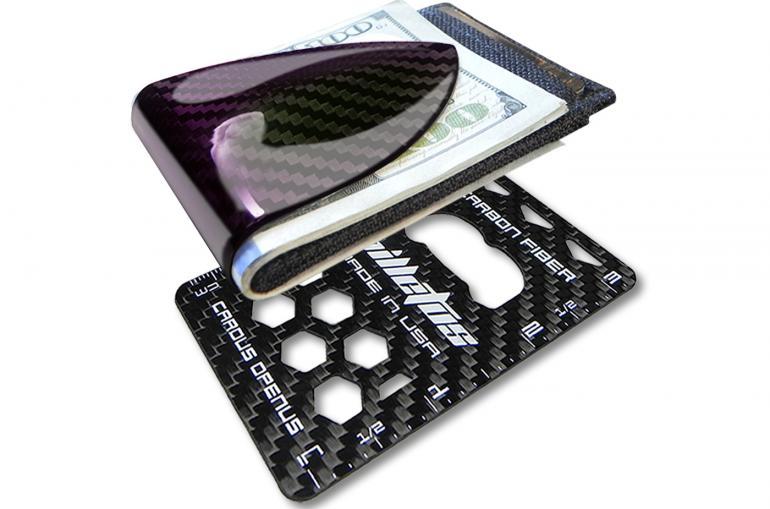 Billetus Maxx carbon-fiber cash clip (2)