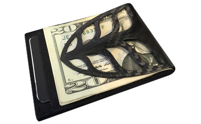 Billetus Maxx carbon-fiber cash clip (6)