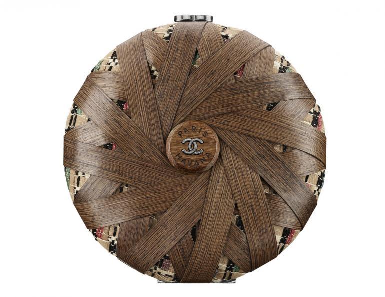 Chanel-Cuba-Wood-and-multicoloured-tweed-minaudiere