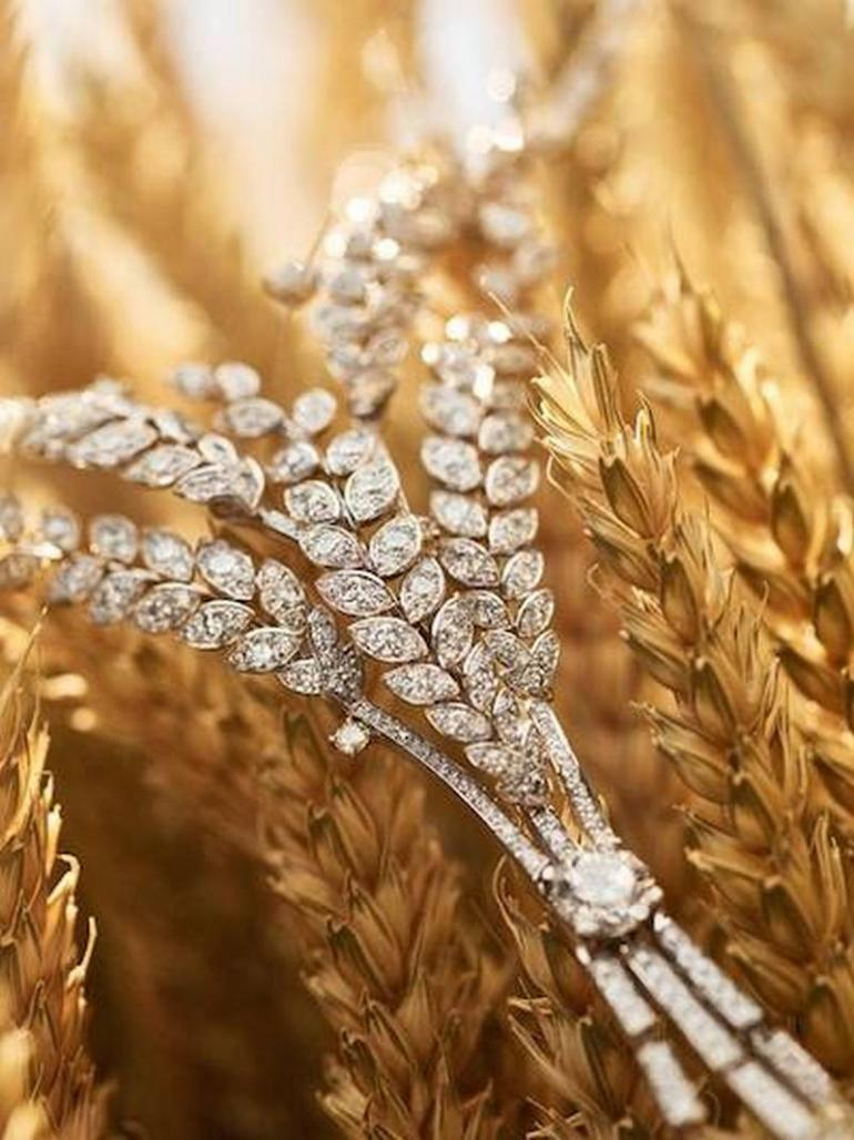 Chanel wheat jewelry (1)