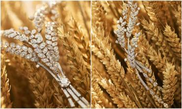 Chanel wheat jewelry