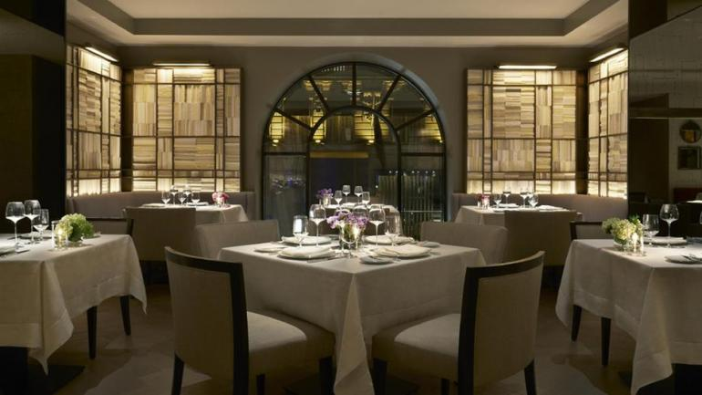 Clement offers the perfect setting for an intimate dinner.