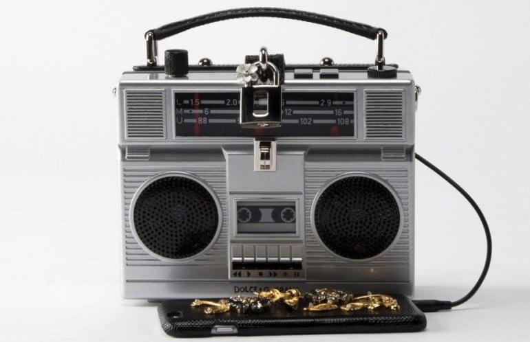 Dolce and Gabbana boombox bag 3