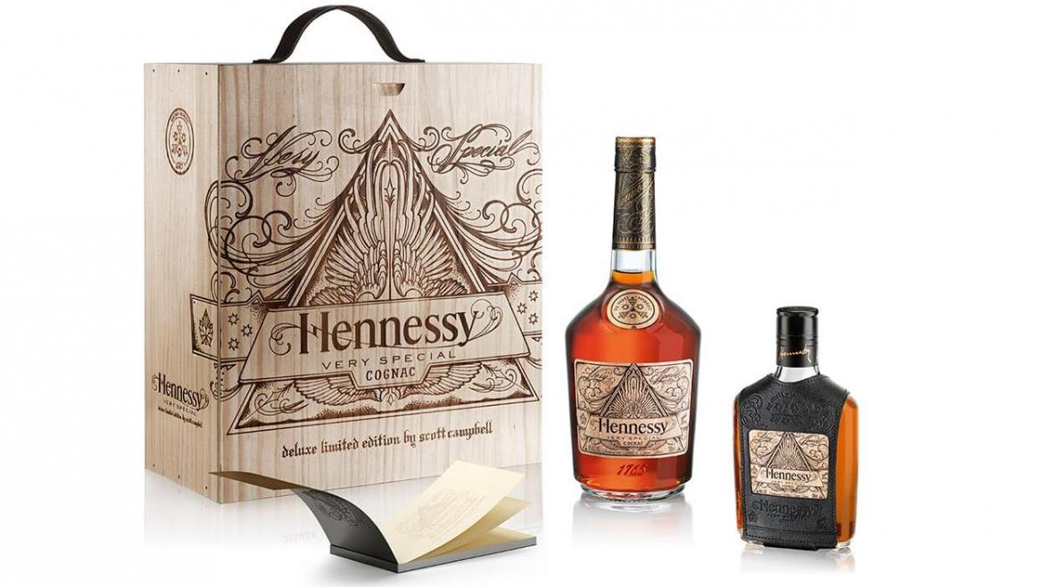 Hennessy Partners With Tattoo Artist Scott Campbell For