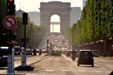 Hermes tourist traffic France