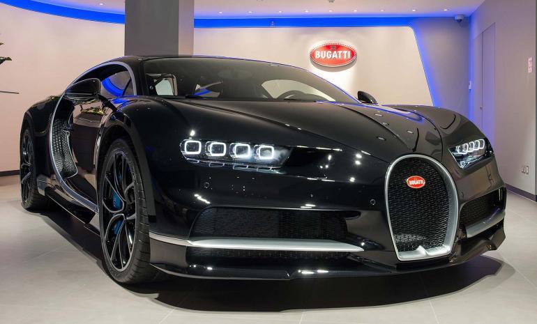 London Bugatti showroom (2)