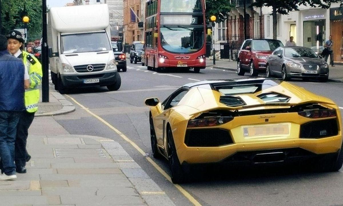 London police to quell reckless supercar drivers in the city : Luxurylaunches