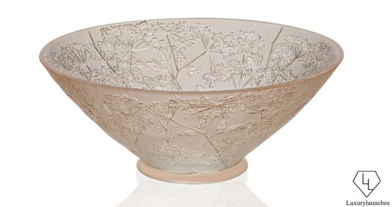 Ombelles Bowl in Gold luster