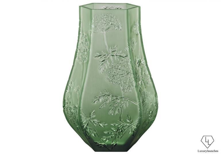 Ombelles Vase  LS Green
