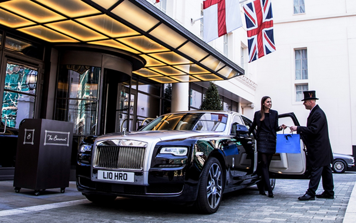 preferred hotels partners with rolls royce to offer its