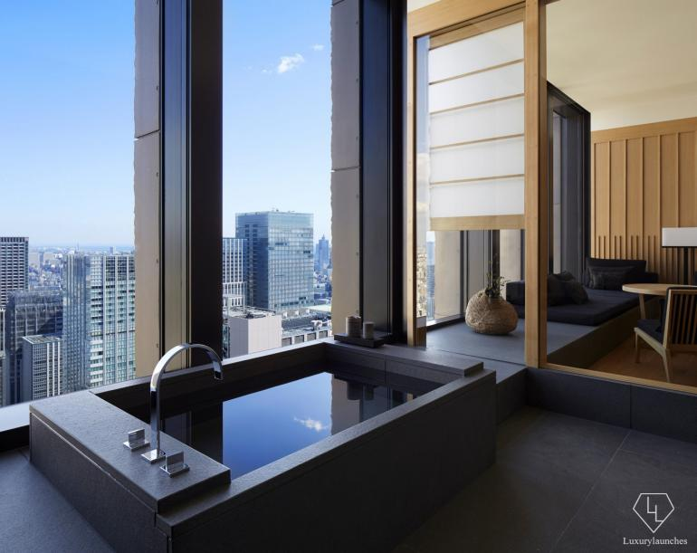 25 coolest hotel bathrooms in the world 2016 for Design boutique hotels tokyo
