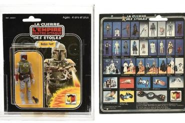 Star Wars Boba Fett figure auction