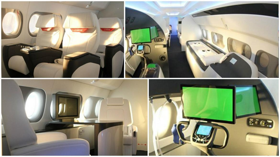 Sukhoi's ultra-luxe private jet