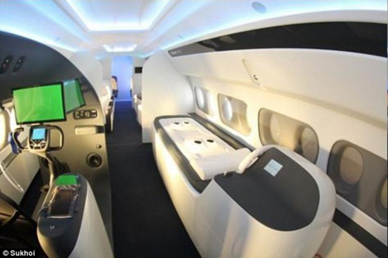 Sukhoi's ultra-luxe private jet  (2)