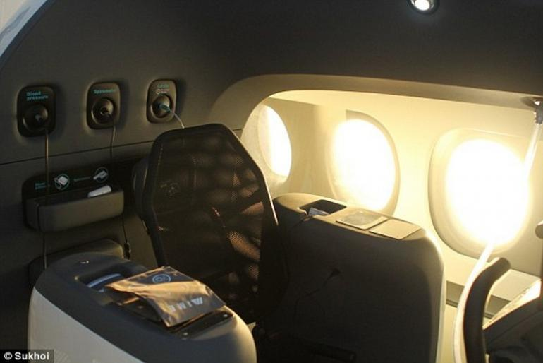 Sukhoi's ultra-luxe private jet  (5)