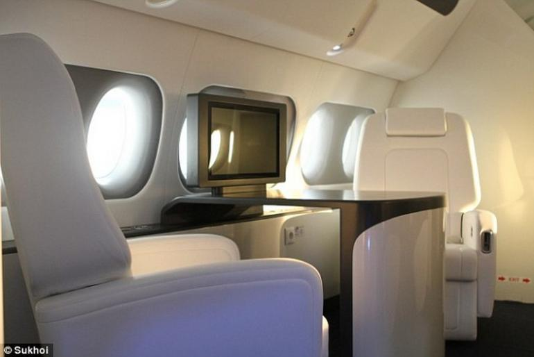 Sukhoi's ultra-luxe private jet  (6)