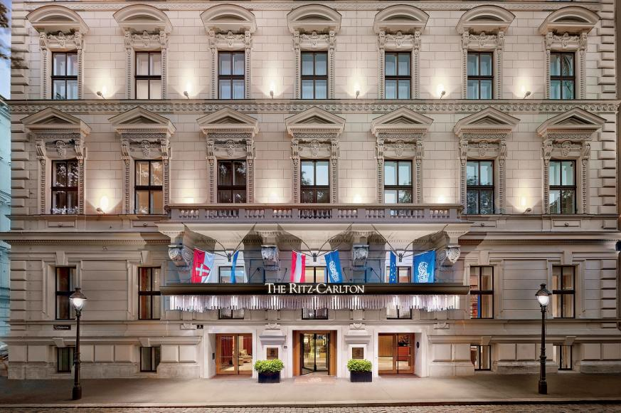 The ritz carlton vienna review for Luxury hotels austria