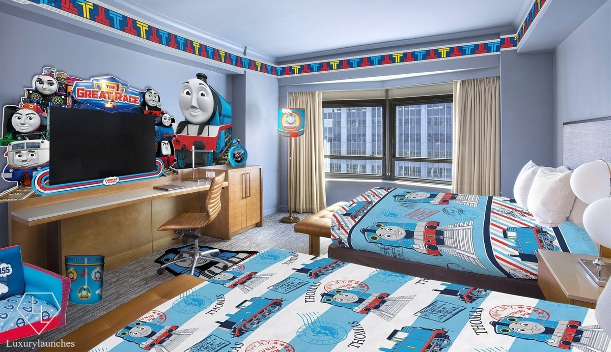 The New York Hilton Midtown Has A Thomas And Friends
