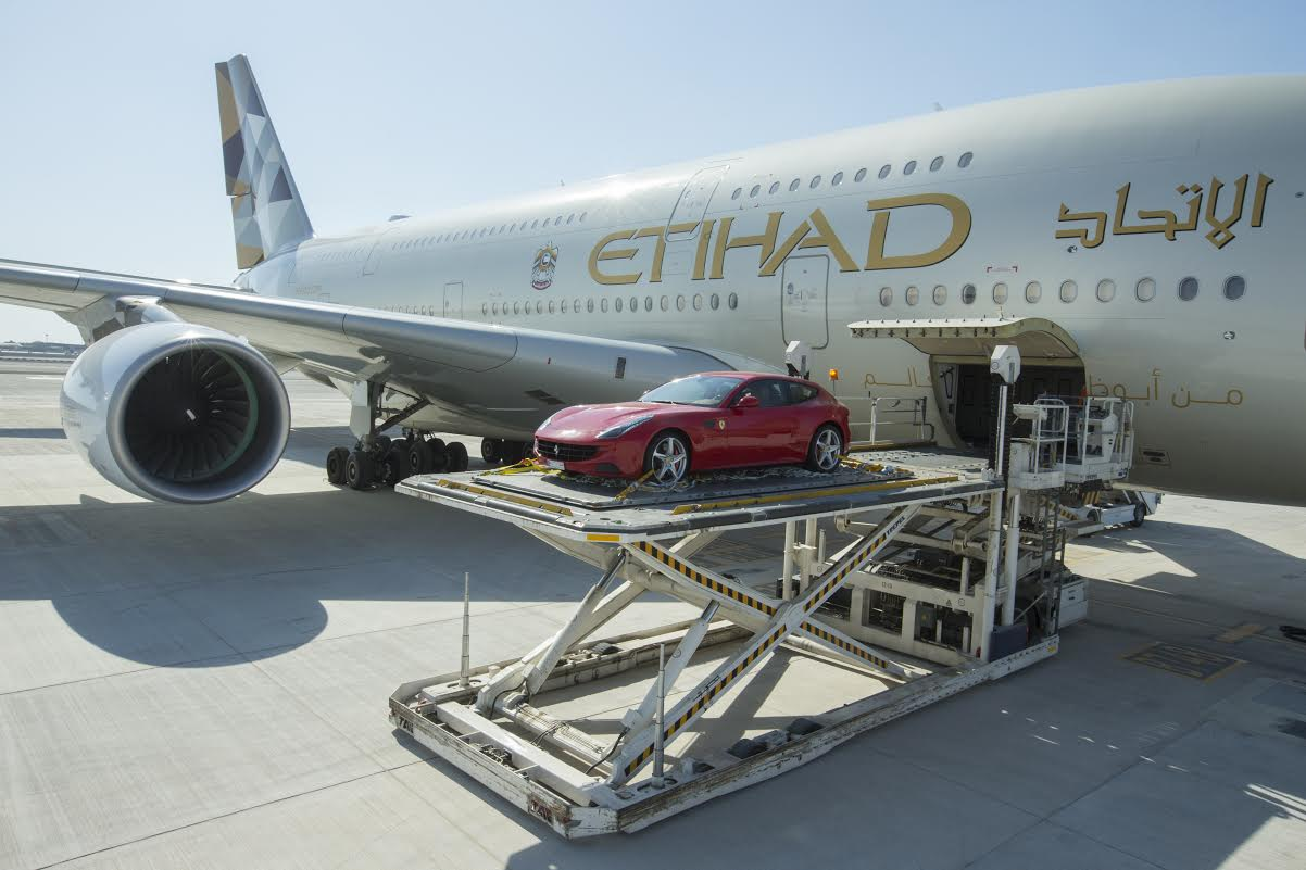 Etihad Will Take You And Your Luxury Car To Your Holiday