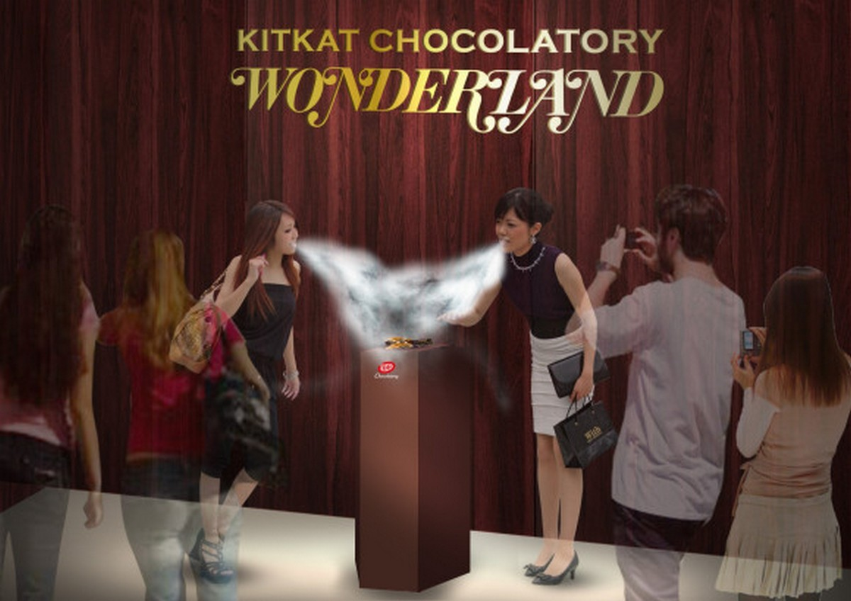 Only in Japan - Liquid nitrogen cooled gourmet Kitkat : Luxurylaunches