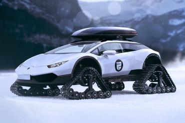 lamborghini-huracan-snowmobile