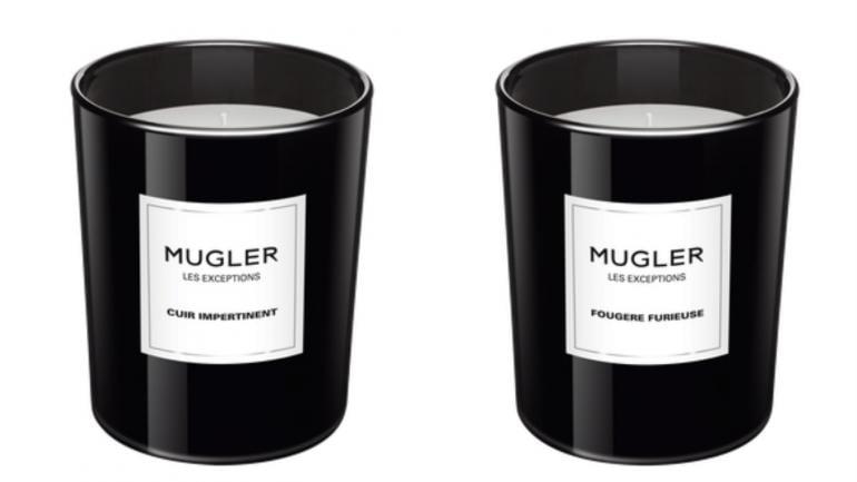 mugler scented candle 2