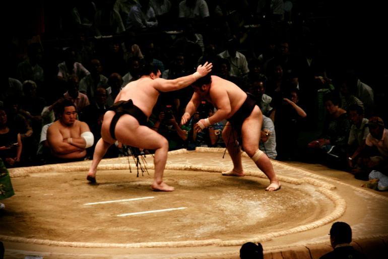 sumo (japan, july 2009)