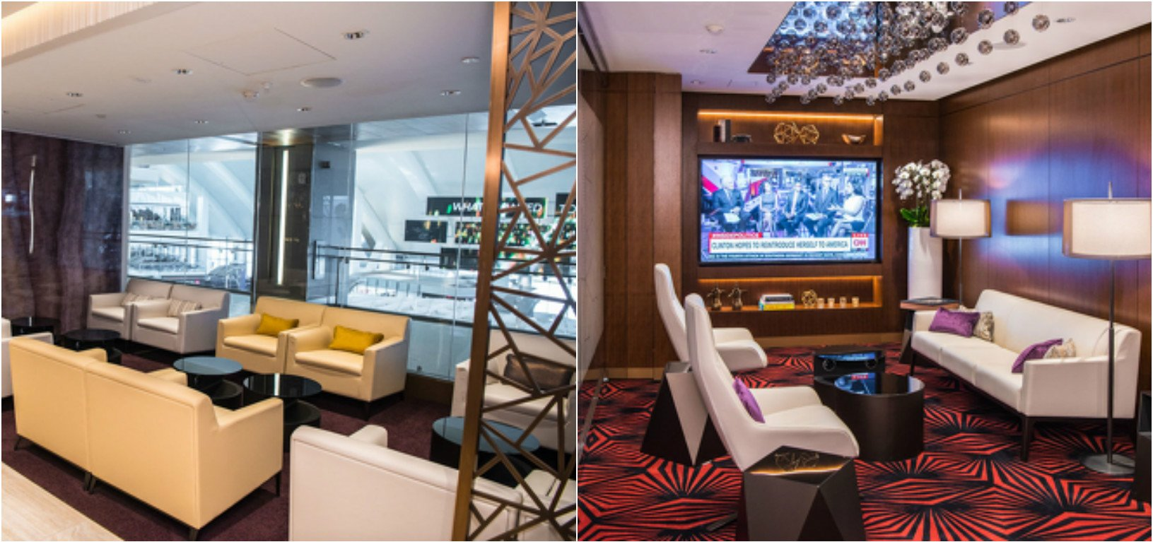 Inside the uber luxurious Etihad first and business lounge at Los ...