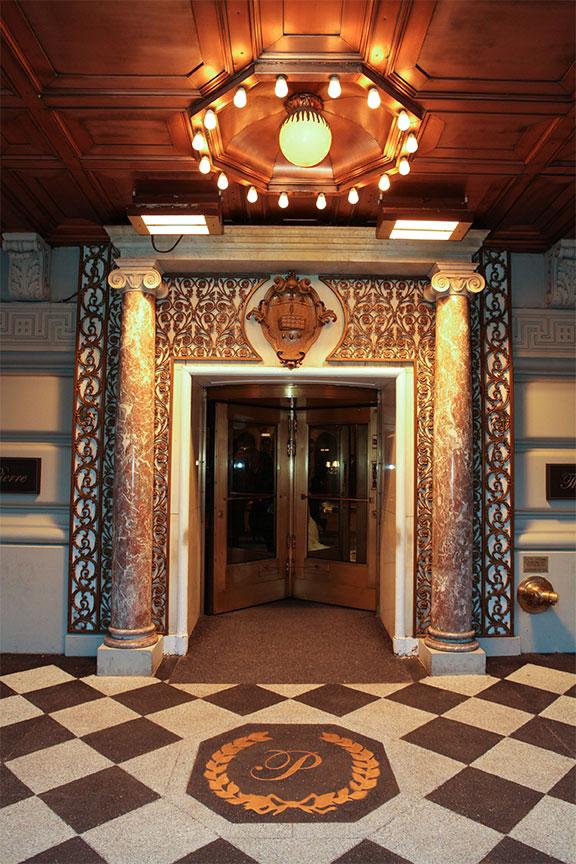 Taj pierre new york review for Hotel pierre ny