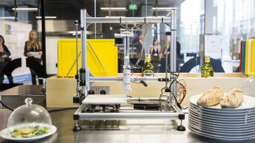 world's first 3D printing restaurant (2)