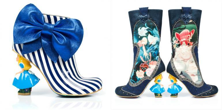 Alice in wonderland shoes (1)